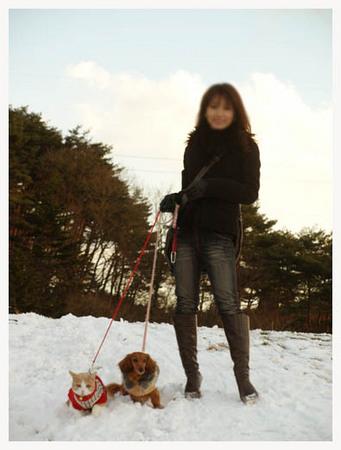 18美人になる方法 雪だけど散歩.jpg