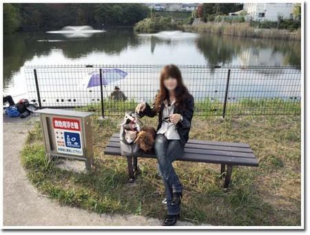 19美人になる方法 今日の散歩は公園.jpg
