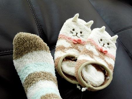 1ファッション モコモコ靴下.jpg