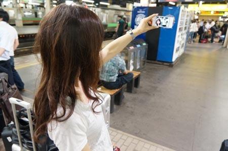 1札幌 駅で自分撮り.jpg