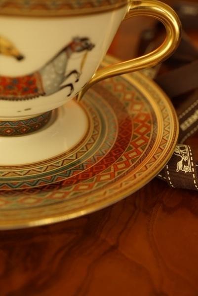 エルメス 皿&リボン.jpg