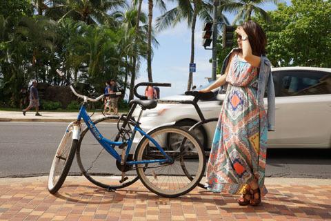 ハワイ自転車とワタナベ.jpg